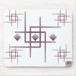 Diamond Maze Mouspad Mousepad