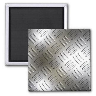 Diamond Metal Look Plate Magnet