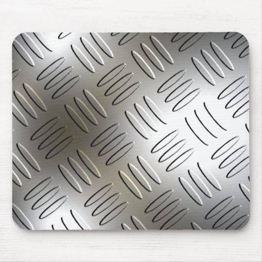 Diamond Metal Plate Mousepad