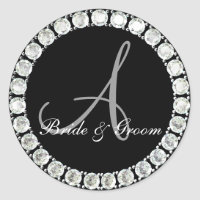 Diamond monogram A customizable seal