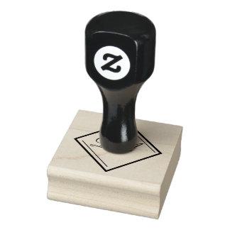 Diamond Monogram Stamp