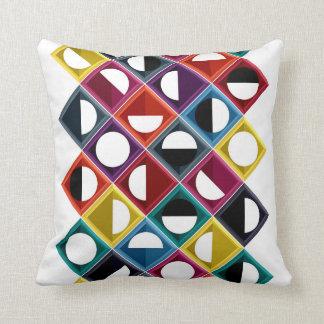diamond moon stripe pillow