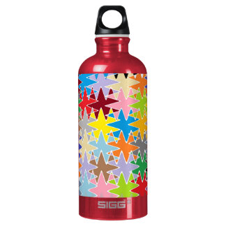 Diamond Multicolor Paper Craft Patterns SIGG Traveler 0.6L Water Bottle