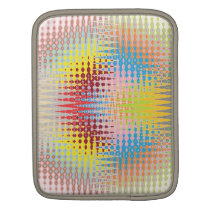 Diamond Multicolor Paper Craft Patterns Sleeve For iPads