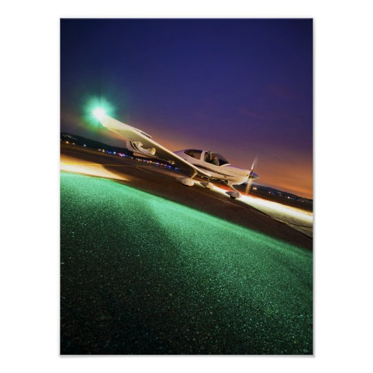 Diamond Night Flight Poster