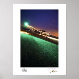 Diamond Night Flight Posters