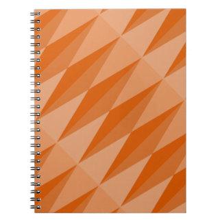 Diamond Notebook (80pgs) - Rust