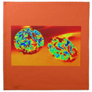 DIAMOND ON FIRE CLOTH NAPKIN