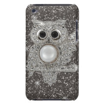 diamond owl barely there iPod case
