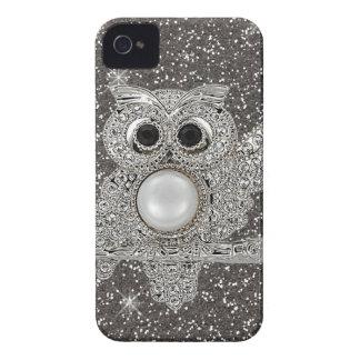 diamond owl iPhone 4 Case-Mate case