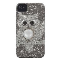 diamond owl iPhone 4 cover