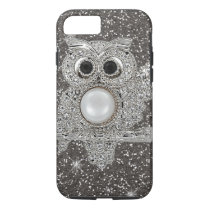 diamond owl iPhone 7 case