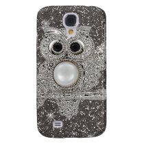 diamond owl samsung galaxy s4 cover