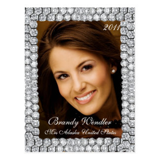 Diamond Pageant Headshot | Autograph Card