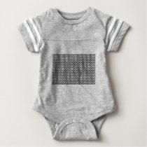 diamond pattern #2 baby bodysuit