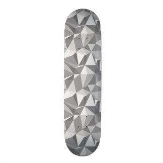 Diamond Pattern - Abstract Polygon Skateboard