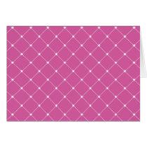 Diamond Pattern Card
