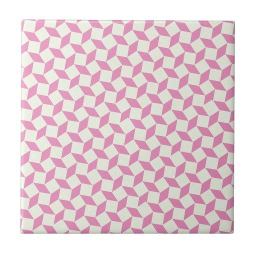 Diamond Pattern Ceramic Tiles