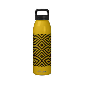 Diamond Pattern Designer Water Bottle