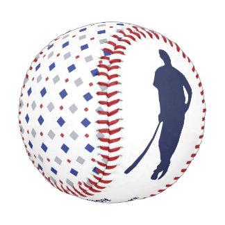Diamond Pattern MVP Keepsake Personalized Baseball