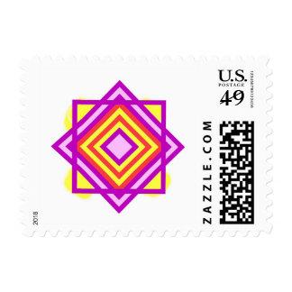 Diamond Pattern Postage