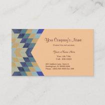 Diamond Pattern Quilt Business Card