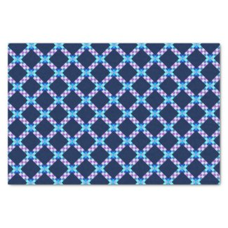 "Diamond Pattern Tissue Paper 10"" X 15"" Tissue Paper"