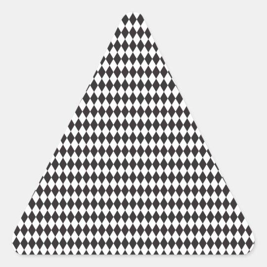 Diamond Pattern Triangle Sticker
