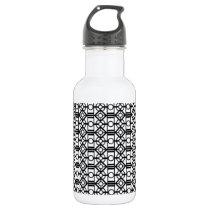 Diamond Pattern Water Bottle