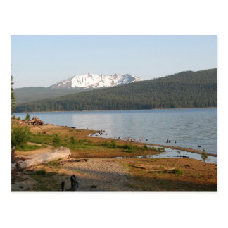 Diamond Peak, Oregon from Crescent Lake Postcard