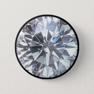 Diamond Pinback Button