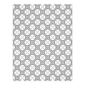 Diamond Plaid Scrapbook Paper Pages Letterhead