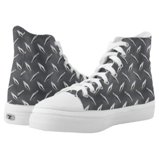 Diamond Plate 3 High-Top Sneakers