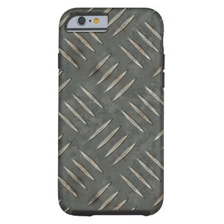 Diamond Plate 6A-6B Options Tough iPhone 6 Case