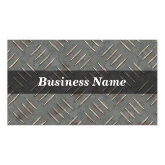 Diamond Plate Background Double-Sided Standard Business Cards (Pack Of 100)
