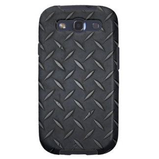 Diamond Plate Black Samsung Galaxy S3 Case