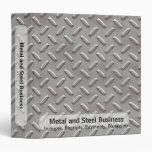 Diamond Plate Business Binder