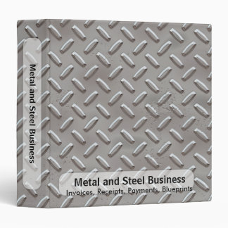 Diamond Plate Business Binder