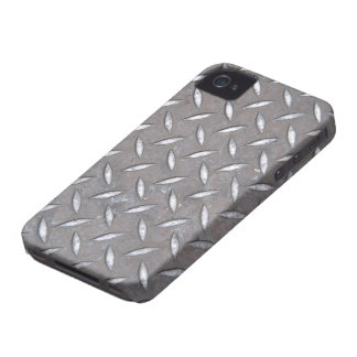 Diamond Plate iPhone 4/4S Case Mate Case