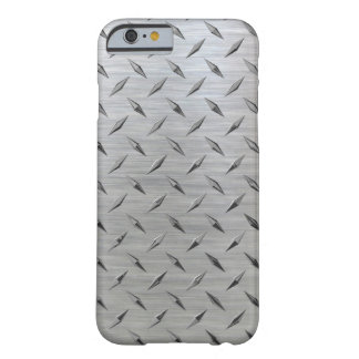 Diamond plate iPhone Barely There iPhone 6 Case