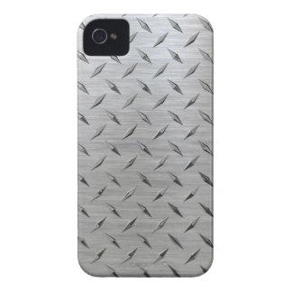 Diamond plate iPhone Case-Mate iPhone 4 Case