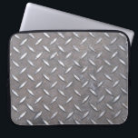 "&quot;Diamond Plate&quot; Laptop Sleeve<br><div class=""desc"">Thank you for your interest in this Lucky Ru's Place item. Please feel free to contact me should you have any questions, if would like changes to the design, font, colors, or if you require a coordinating piece that you do not see posted in the store. E-mail me at Luckyrusplace@aol.com...</div>"