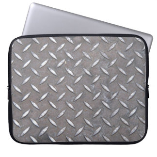 """Diamond Plate"" Laptop Sleeve"