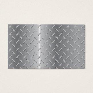 Diamond plate metal.ai business card
