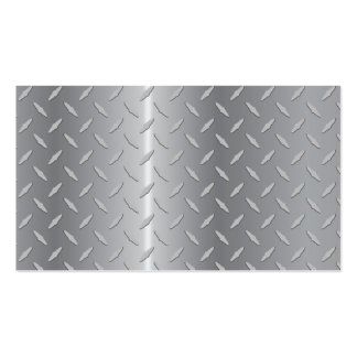 Diamond plate metal.ai Double-Sided standard business cards (Pack of 100)