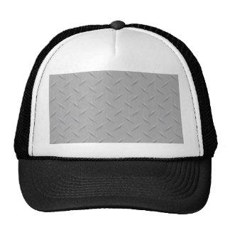 Diamond Plate Metal Mesh Hat