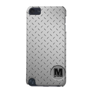 Diamond Plate Metal Monogram iPod Touch Case