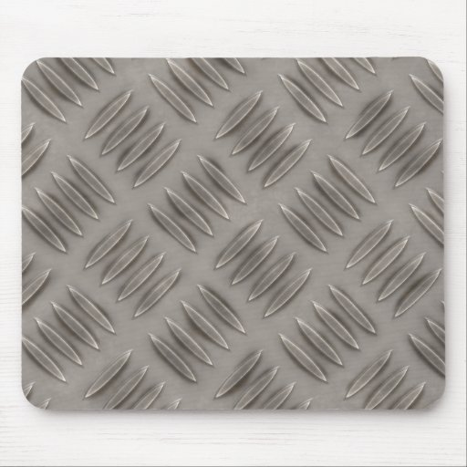 Diamond Plate Metal Pattern Mouse Pad