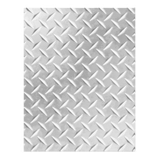 Diamond Plate Metal Pattern Scrapbook Paper at Zazzle