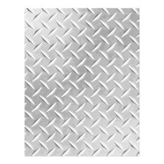 Diamond Plate Metal Pattern Scrapbook Paper
